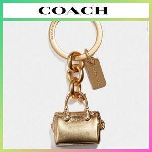 COACH Bennett Bag Keychain Key Ring